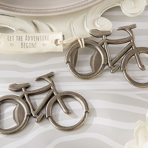 Bicycle Bottle Opener Wedding Favours