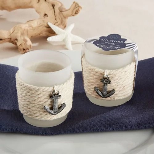 Rope Tealight Holders Wedding Favours