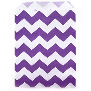 Candy Buffet Chevron Bags