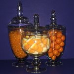 Wedding Candy Buffet Orange Colour Candy