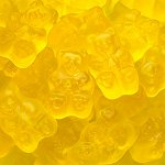 Wedding Candy Buffet Yellow Mango Bears