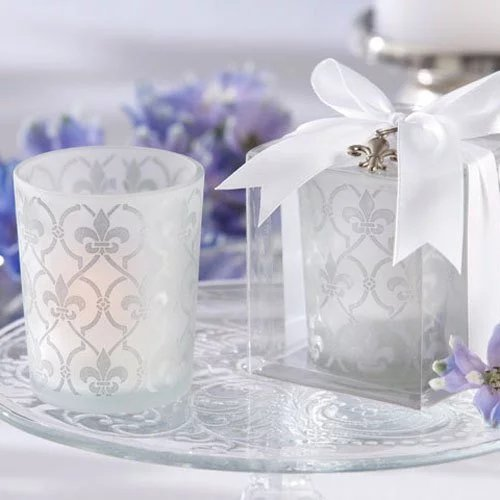 Votive Candle and Tealight Holder Wedding Favours