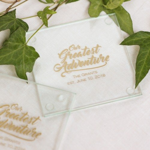 Coaster Wedding Favours