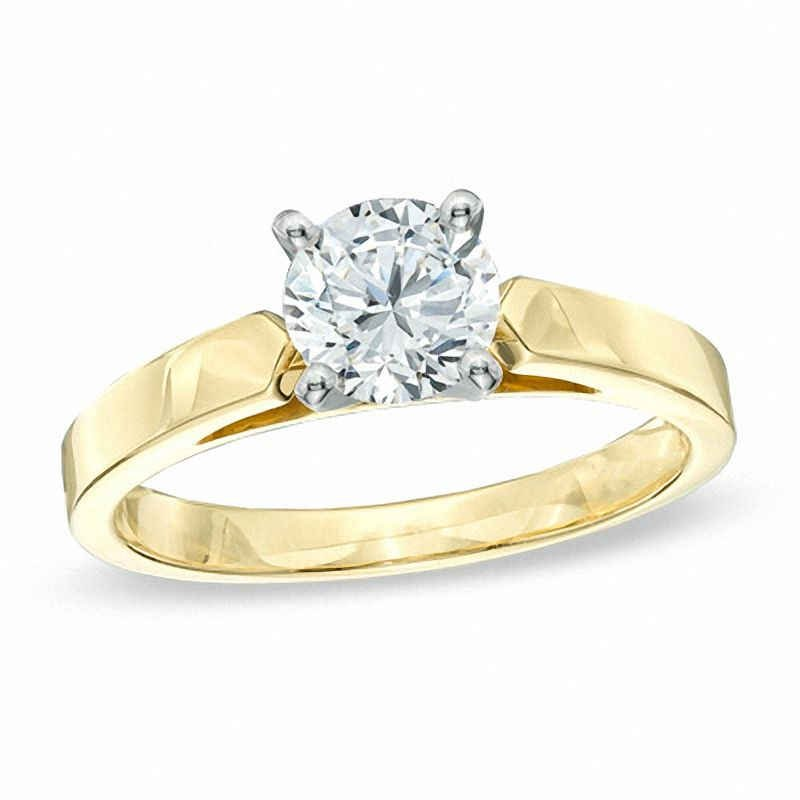 Wedding Jewelry Diamond Solitaire Crown Royal Engagement Ring