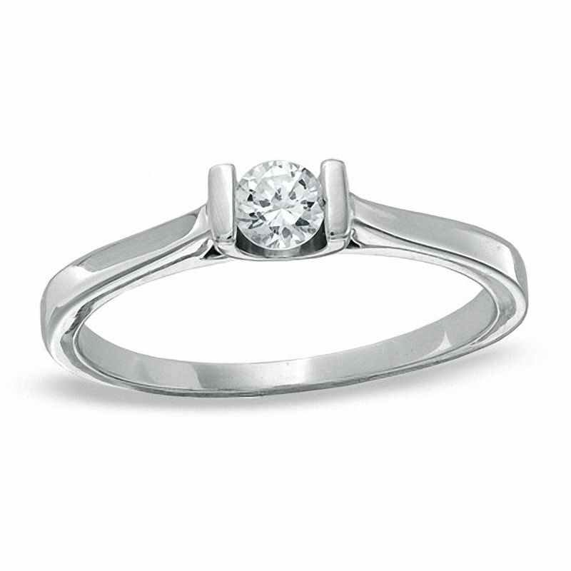 Wedding Jewelry Diamond Solitaire Engagement Ring